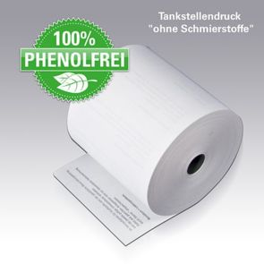 Thermorolle mit TS-Druck